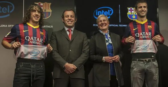 Intel, the Official Technology Partner of FC Barcelona