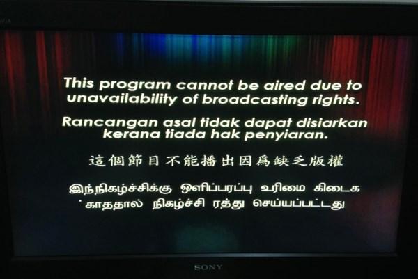 RTM Black Out On HyppTV