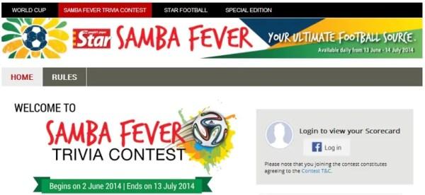 the-star-samba-fever-contest