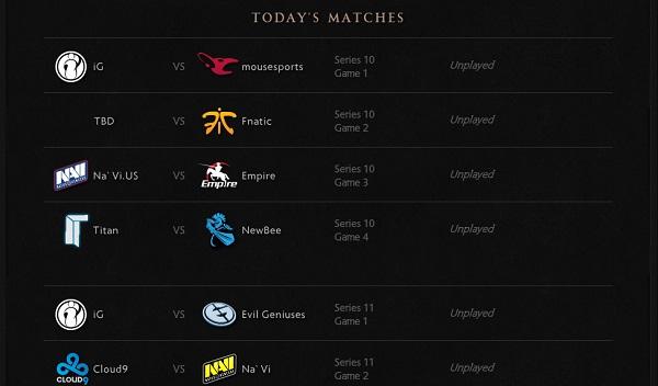 TI Schedule 2014