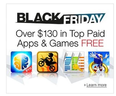 Amazon Appstore Black Friday Free Android Apps