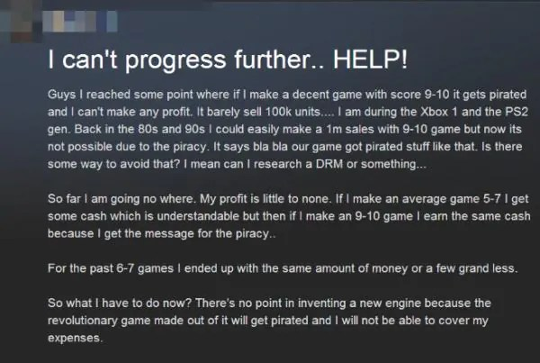 Memorable Punishments For Pirating Games From Developers