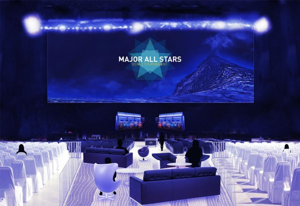 Major All Stars Dota 2 Tournament LAN Finale : Artist's Mockup