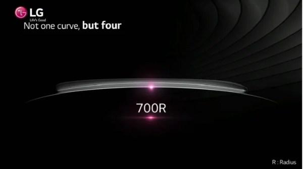 LG G Flex Curve