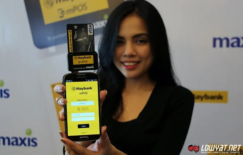 Maybank Unveils MPOS Portable Payment Device With The