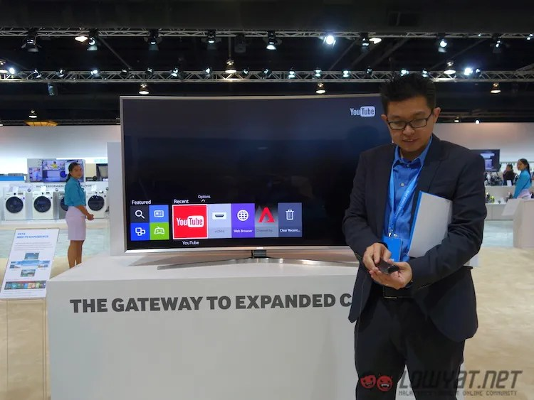 Samsung Shows off its New SUHD TVs in SEA Forum 2015, Coming