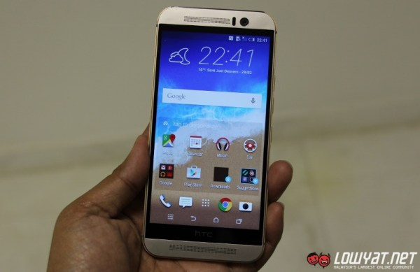 HTC One M9 Hands On09