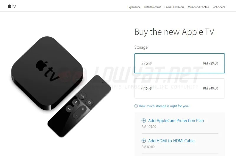 The New Apple TV Now Officially Available In Malaysia