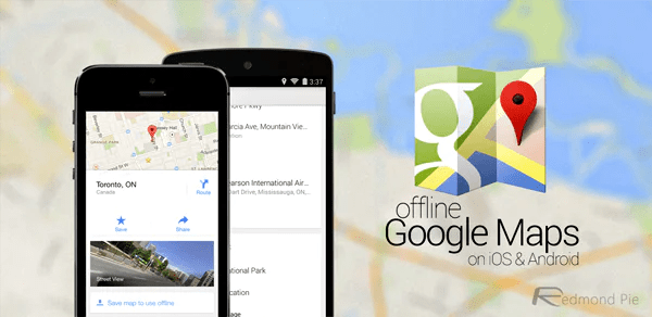 Google Maps' Offline Feature Is Now Available For The iOS