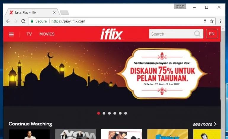iflix Malaysia \\ 29 May 2017