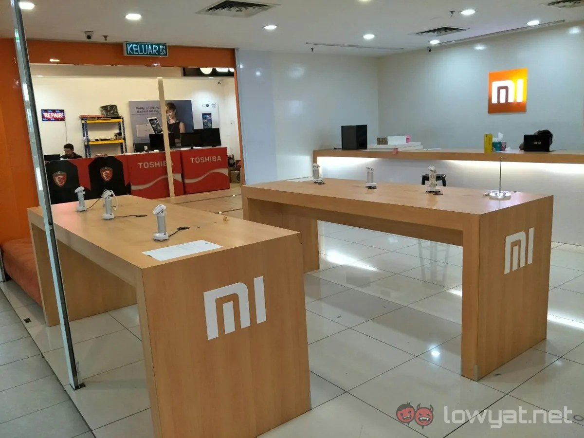 The Mi Exclusive Service Centre in Plaza Low Yat Has Closed