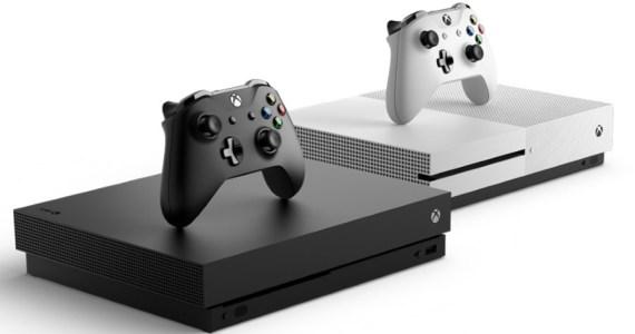 Microsoft Xbox One X and Xbox One S