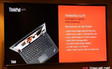 Lenovo ThinkPad A275 - Powered by AMD Pro
