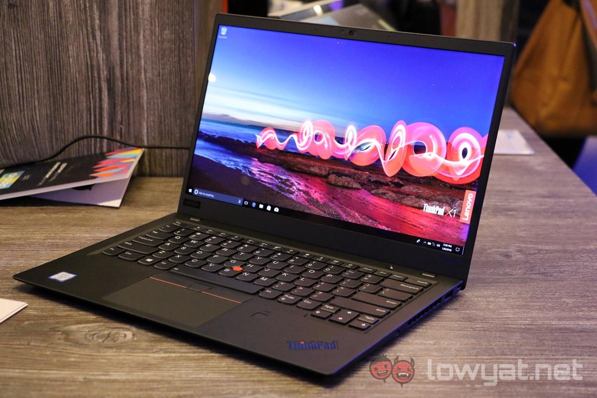 Lenovo ThinkPad X1 Carbon (2018) Hands On: So, So Close