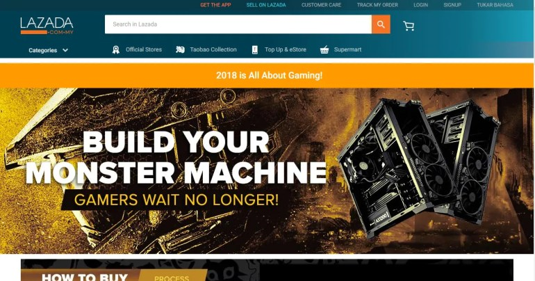 Lazada Launches 'Build Your Own PC' Promotion