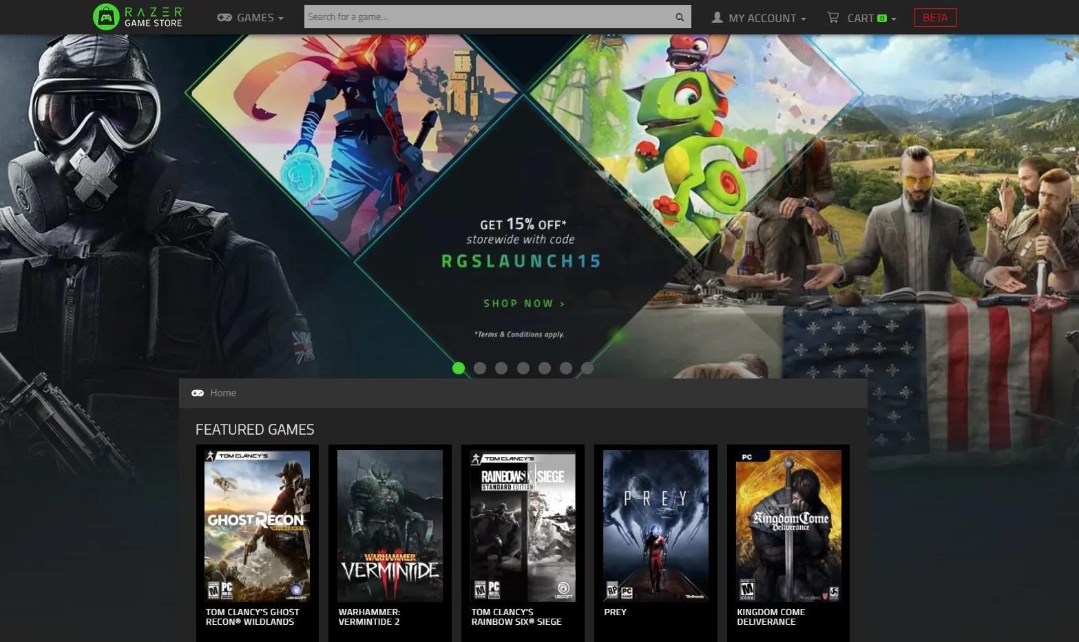 Razer Game Store Coming To Southeast Asia Through