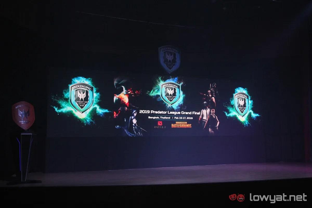 Photo Essay Acer Predator League 2019 Kicks Off At Bangkok