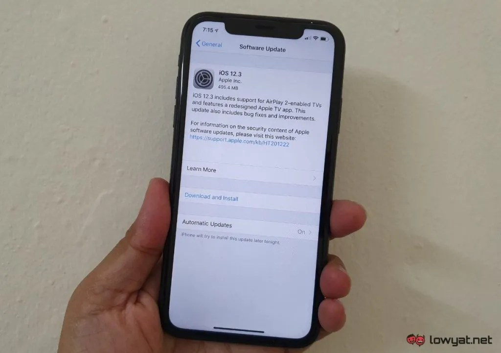 iOS 12 4 Reintroduces A Patched Bug
