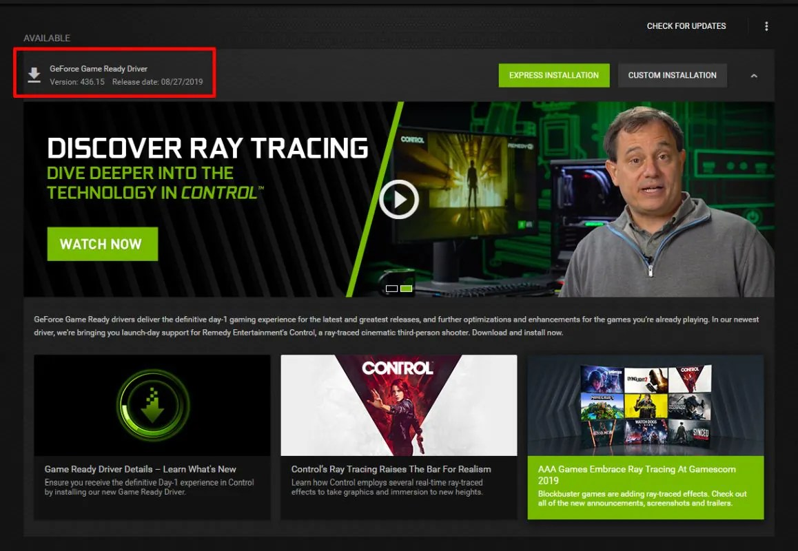 NVIDIA GeForce Drivers 436 02 Reportedly Throttling