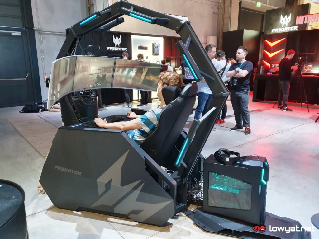 Acer Goes Bonkers Again With Predator Thronos Air Gaming