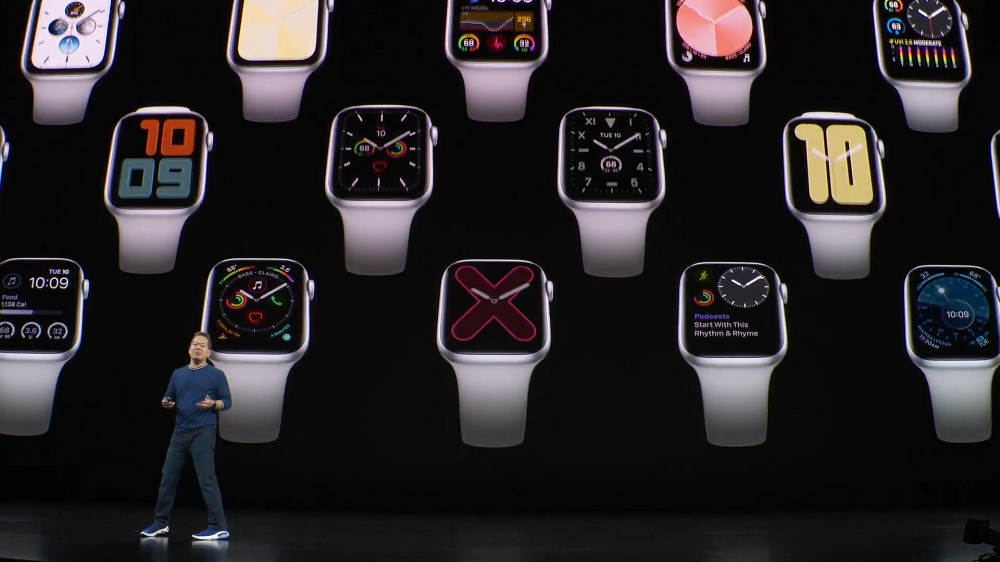 Introducing the Apple Watch Series 5