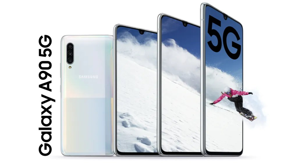 Download the Samsung Galaxy A90 5G wallpapers here!