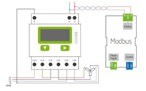 Documentation  Loxone Modbus Energy Meter
