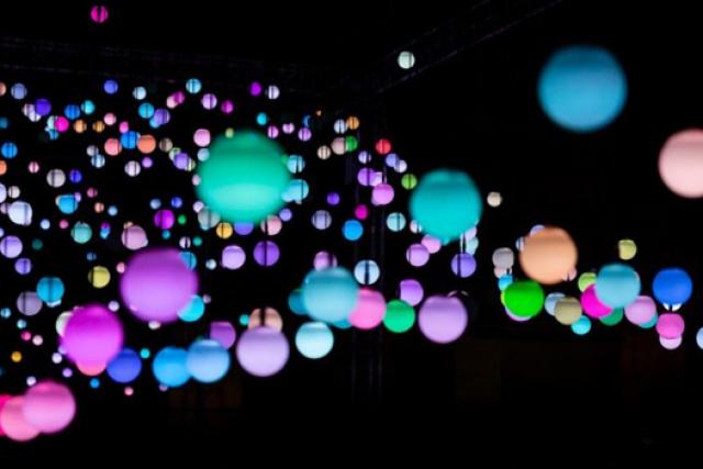 Spheres of light