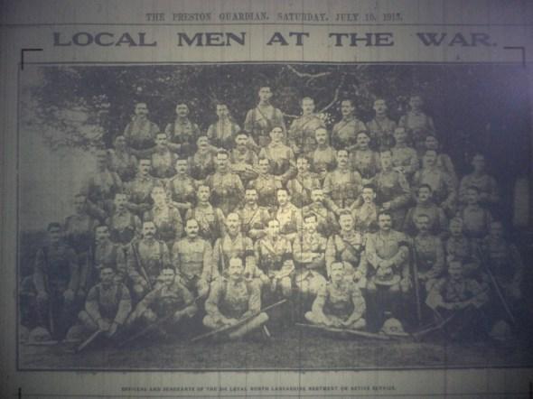 2nd BN LNL 10 July 1915