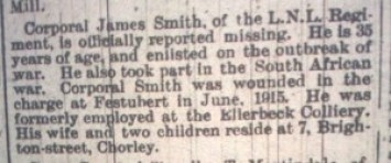 Smith, James CG 26-8-1916