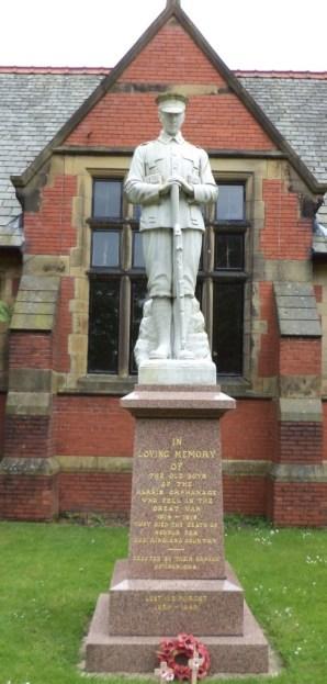 Harris Orphanage War Memorial 1