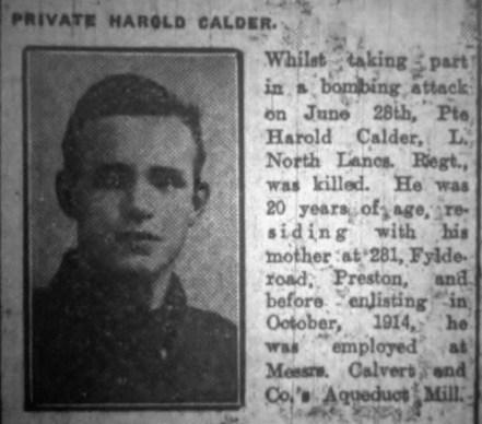Joseph Harold Calder