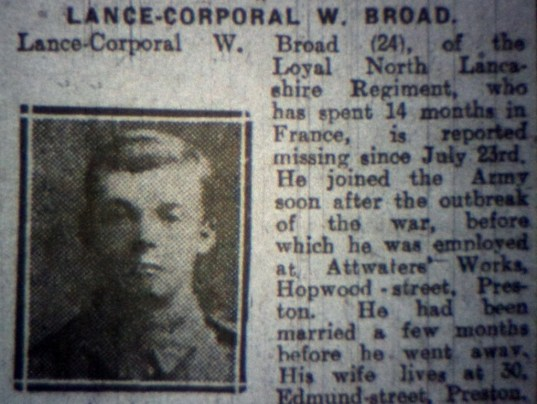12214 Lance Corporal William Broad 1