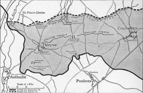 THIEPVAL area
