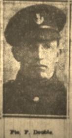 57606 Private Arthur Patrick Double 4th Battalion