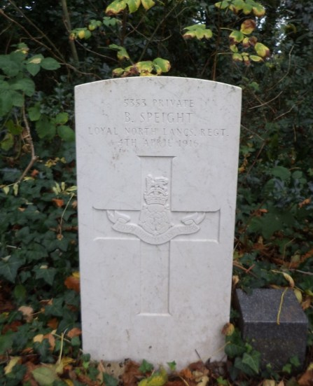 6726 Private Thomas Speight 1st Battalion 2