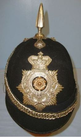The Lancashire Volunteer Rifles helmet (post 1863)