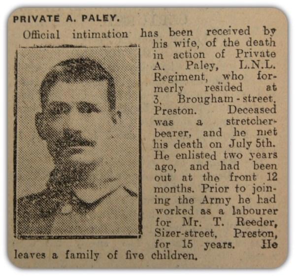 12462 Private Albert Paley