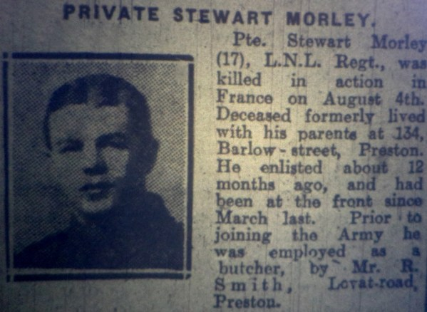 4237 Private Stewart Morley