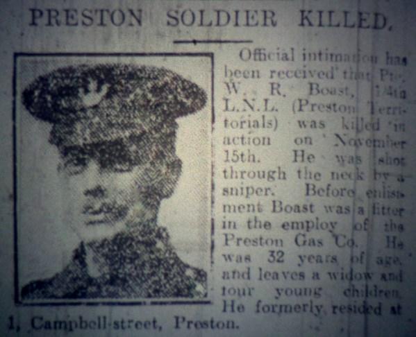 19 Private William Rowland Boast 1