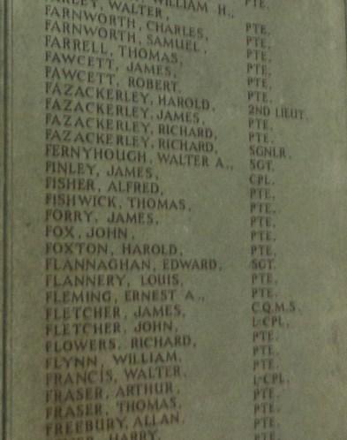 20004 Sergeant Walter Augustus Fernyhough 6th Battalion Harris RoH