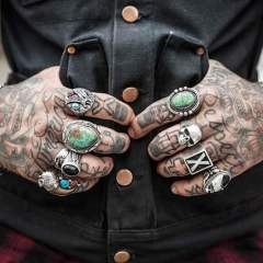 Tattoos on the Hands