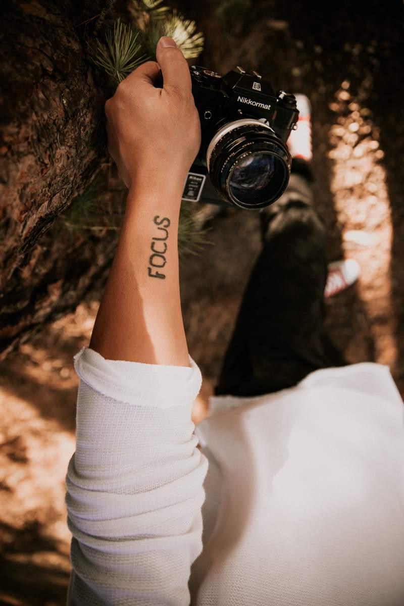One Word Tattoo