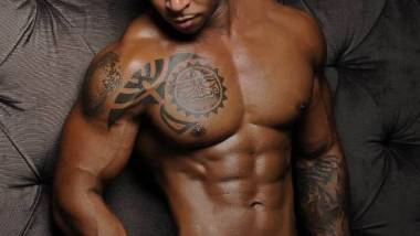 Fit Male with Tattoos