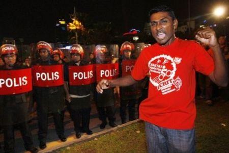 ISA protest police FRU