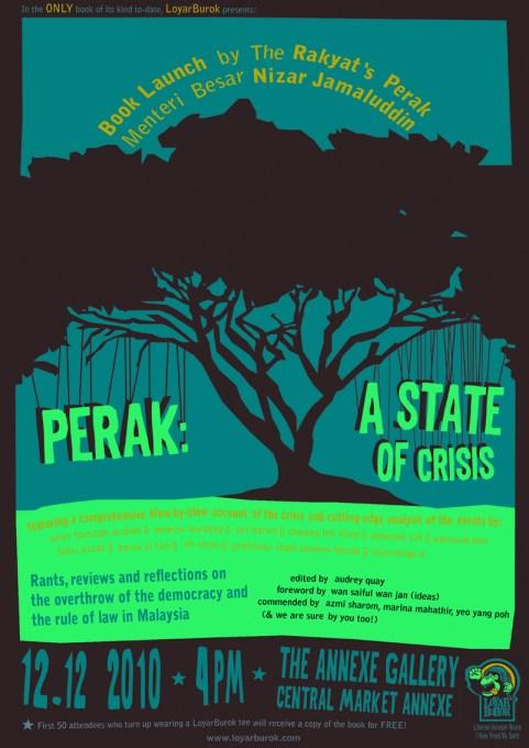 Perak: A State Of Crisis poster
