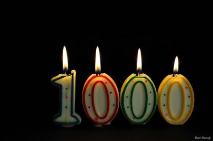 Happy 1000th! | Credit: Frank Boenigk
