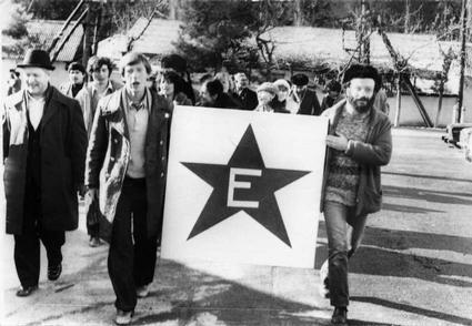 Esperanto Demonstration | Credit: http://www.flickr.com/photos/karlmarx_75