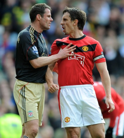 Gary Neville is a Red, he hates Scousers!