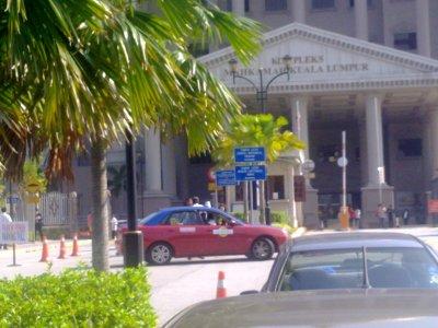 KL Duta Courts - Pathetic Taxi Stand | Photo: Shanmuga K.